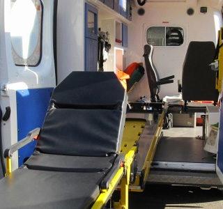 Транспортировка в больницу на госпитализацию